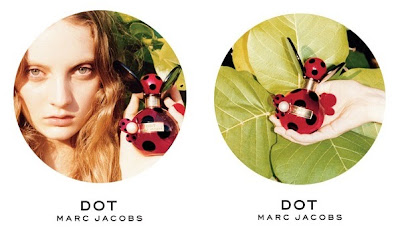Some of the advertisements for Marc Jacobs Dot