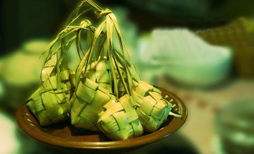 ketupat, resep ketupat, cara membuat ketupat