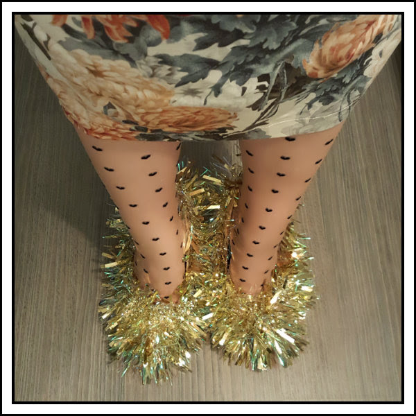 new years sotd tinsel shoes