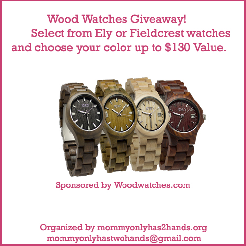 Enter to win the wood watches giveaway. Enter 3/5.
