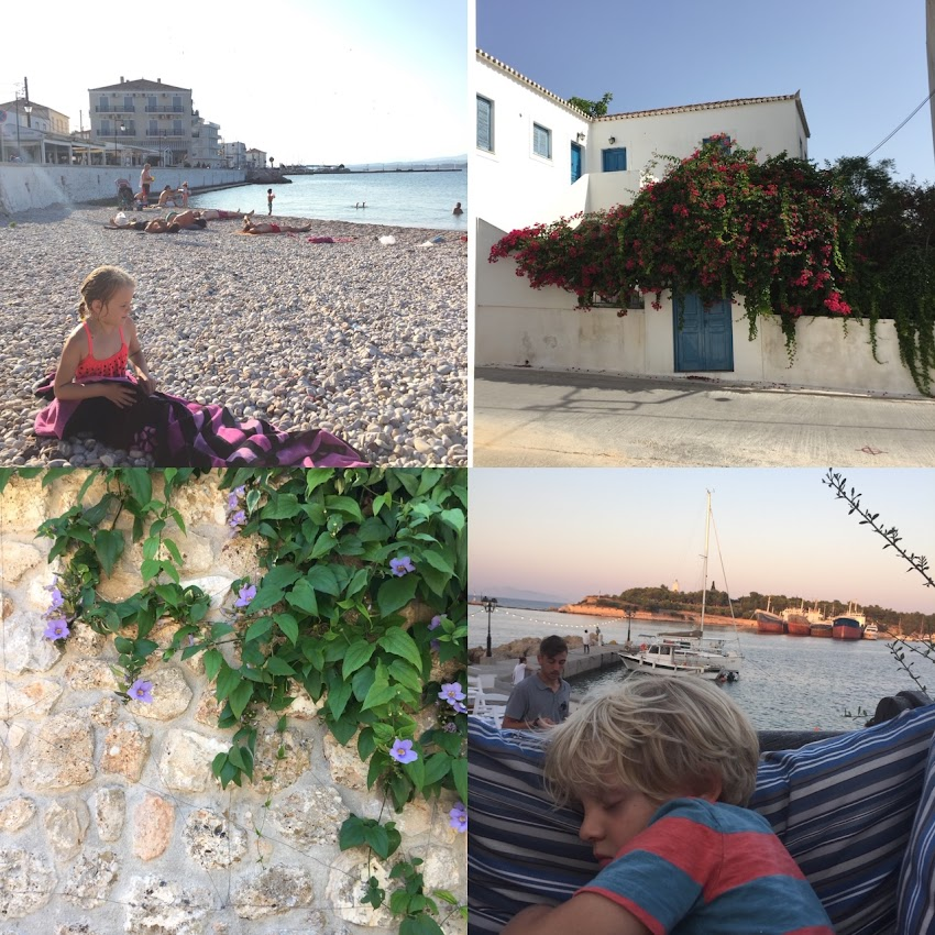 Greece Trip Part 2:  Spetses with Kids