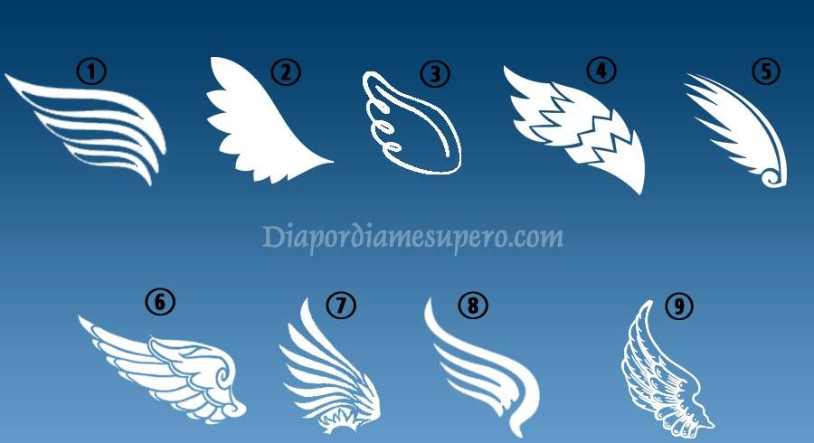Test alas del  ángel