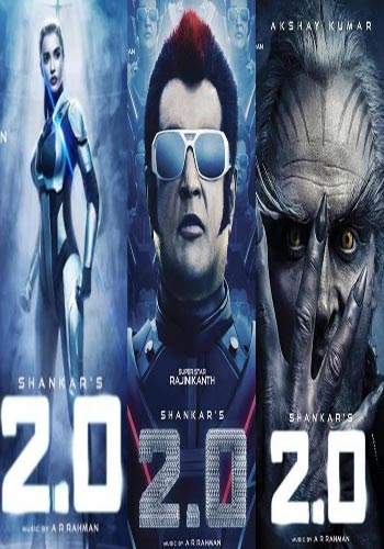 2.0-Robot 2 Hindi Upcoming Movie Trailer HD