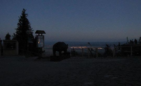 Widok z Hrebenioka na Poprad.