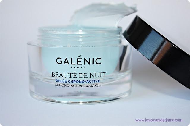 Beauté de Nuit Galenic belleza cuidado facial crema de noche