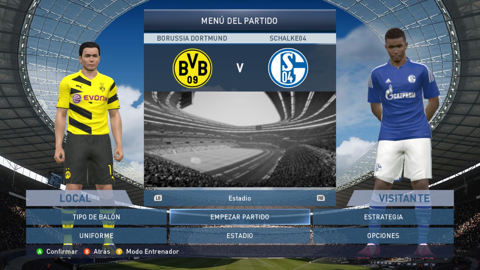 Total Patch 2 0 Bundesliga for PES 2015 PC | Pes Free Downloads