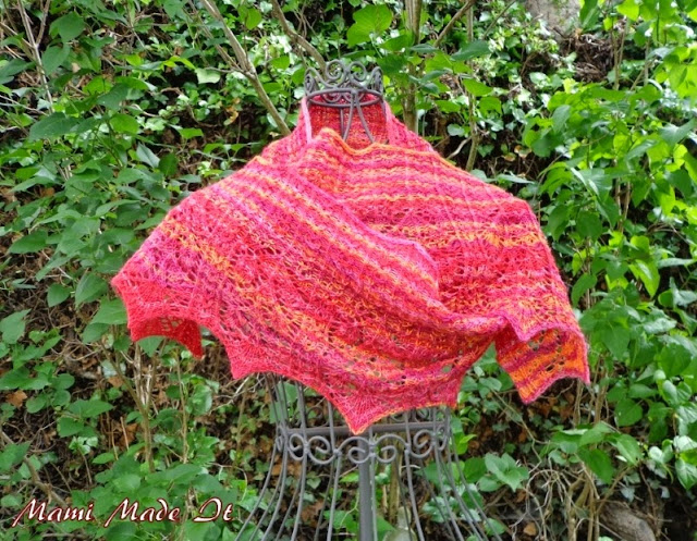 Shawl Sunset by Mami Made It
