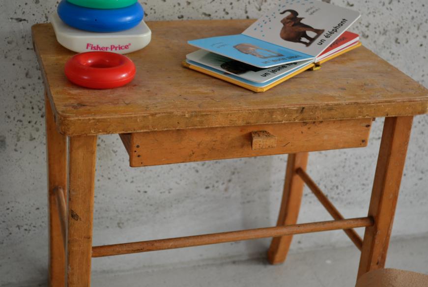 past present petit bureau enfant baumann. Black Bedroom Furniture Sets. Home Design Ideas