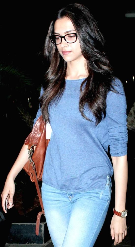 Is Deepika Sure that she is doing a commercial for glasses ...