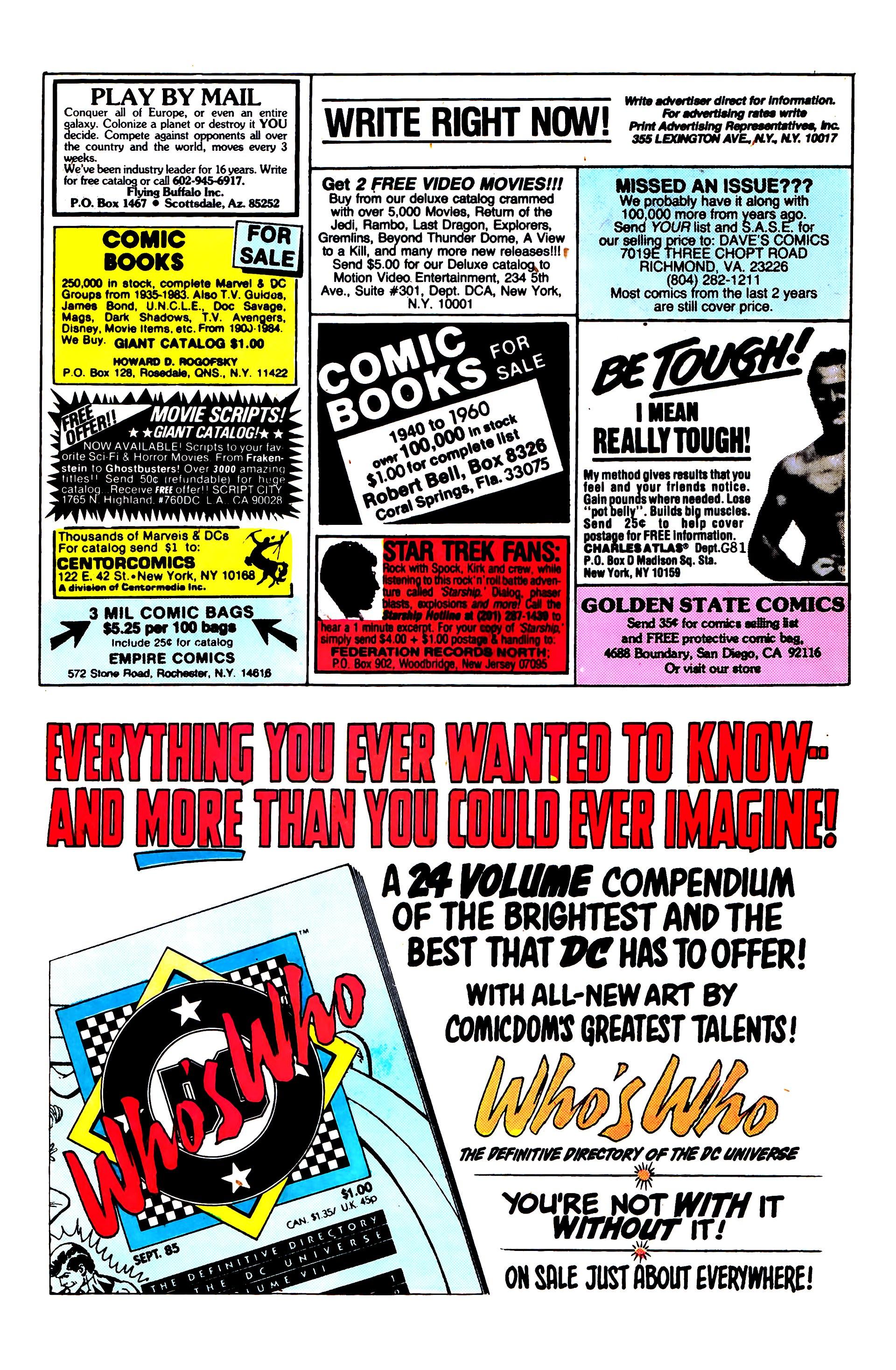 Read online Secret Origins (1986) comic -  Issue #4 - 23