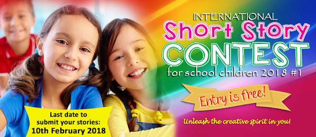 International Short Story Contest by Kids World Fun