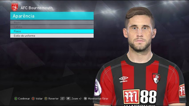 Andrew Surman Face PES 2018
