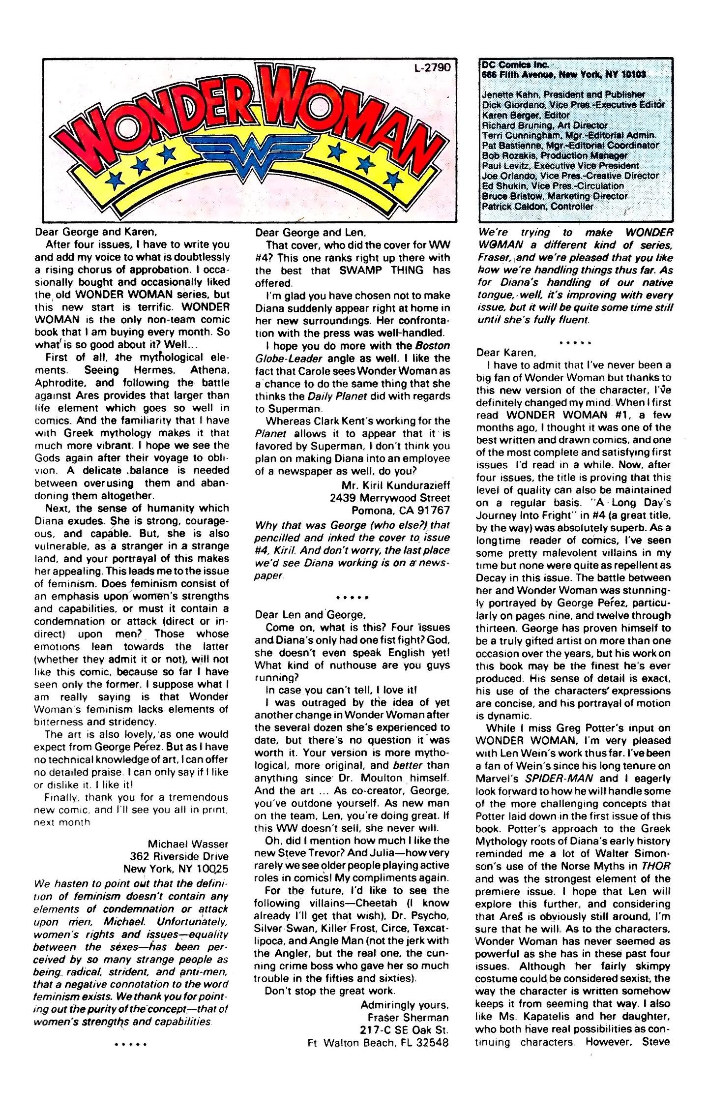 Read online Wonder Woman (1987) comic -  Issue #7 - 23