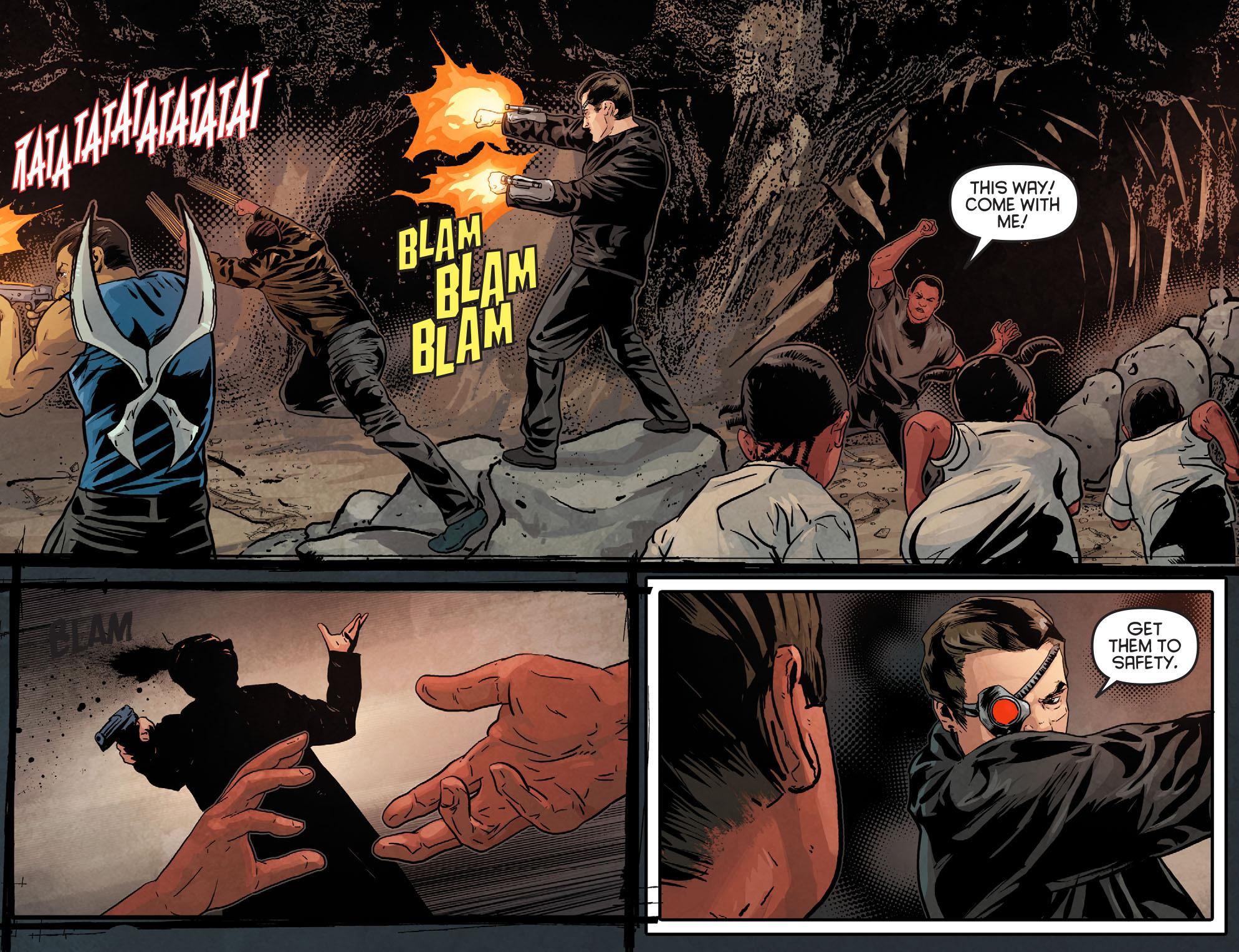 Read online Arrow: Season 2.5 [I] comic -  Issue #12 - 15