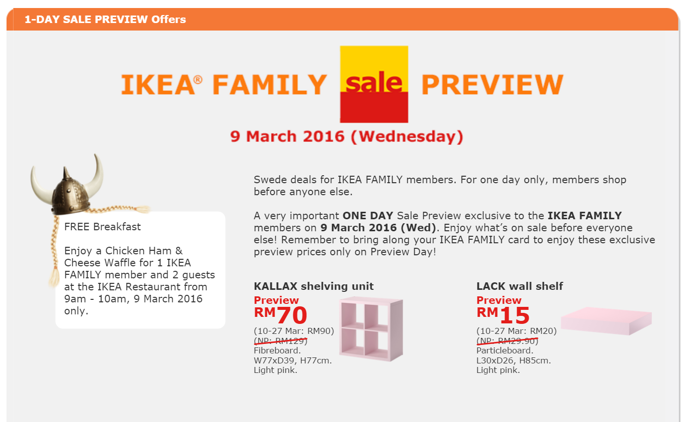 BestLah: IKEA FAMILY Sale Preview - FREE Breakfast (9 Mar) on modell's family, saudi arabia family, walmart family, disney family, unhappy family, muslim family, gucci family, ideal family, facebook family, middle eastern family, mcdonald's family, google family, sweden family, bj's wholesale family, camping with your family, macy's family, shopping family, at&t family, historic family, caucasian family,