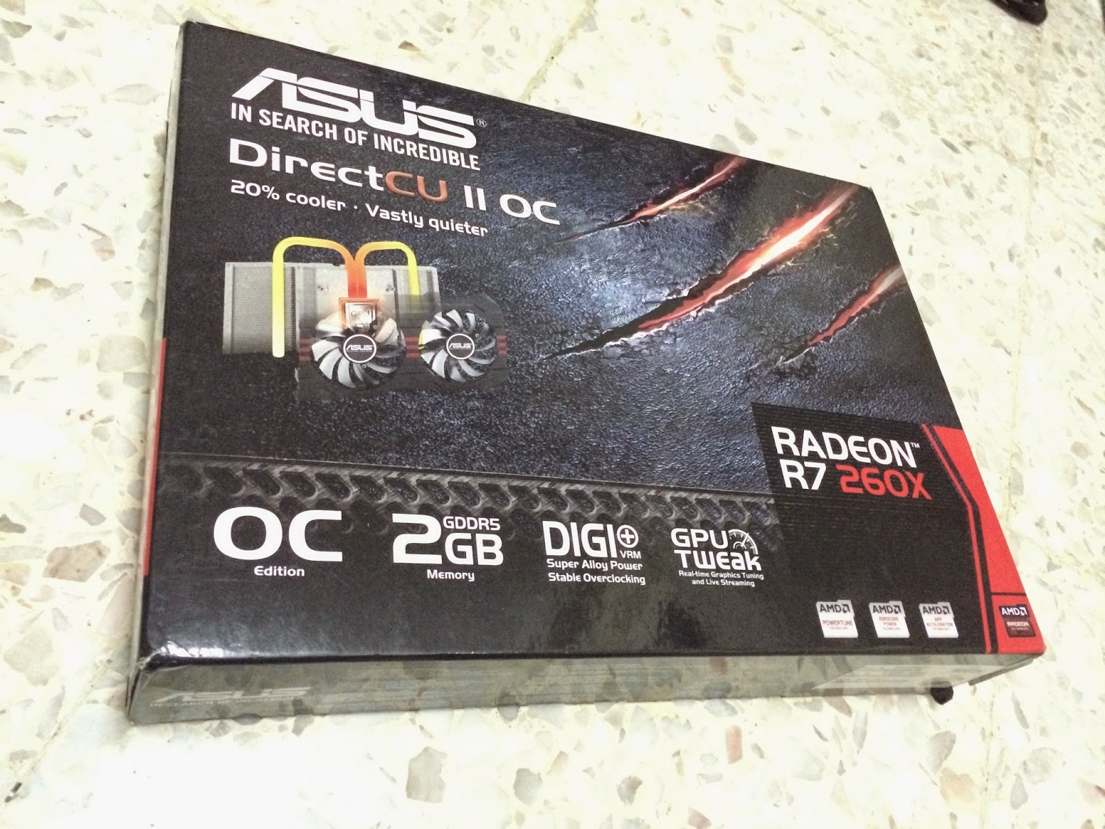 ASUS R7 260X DirectCU II Performance Review 3