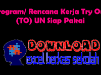 Program/ Rencana Kerja Try Out (TO) UN Siap Pakai