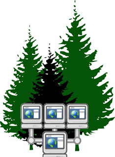 Trees have their own communications systems