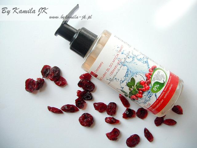 GoCranberry żurawinowy micelarny żel do demakijażu i oczyszczania twarzy