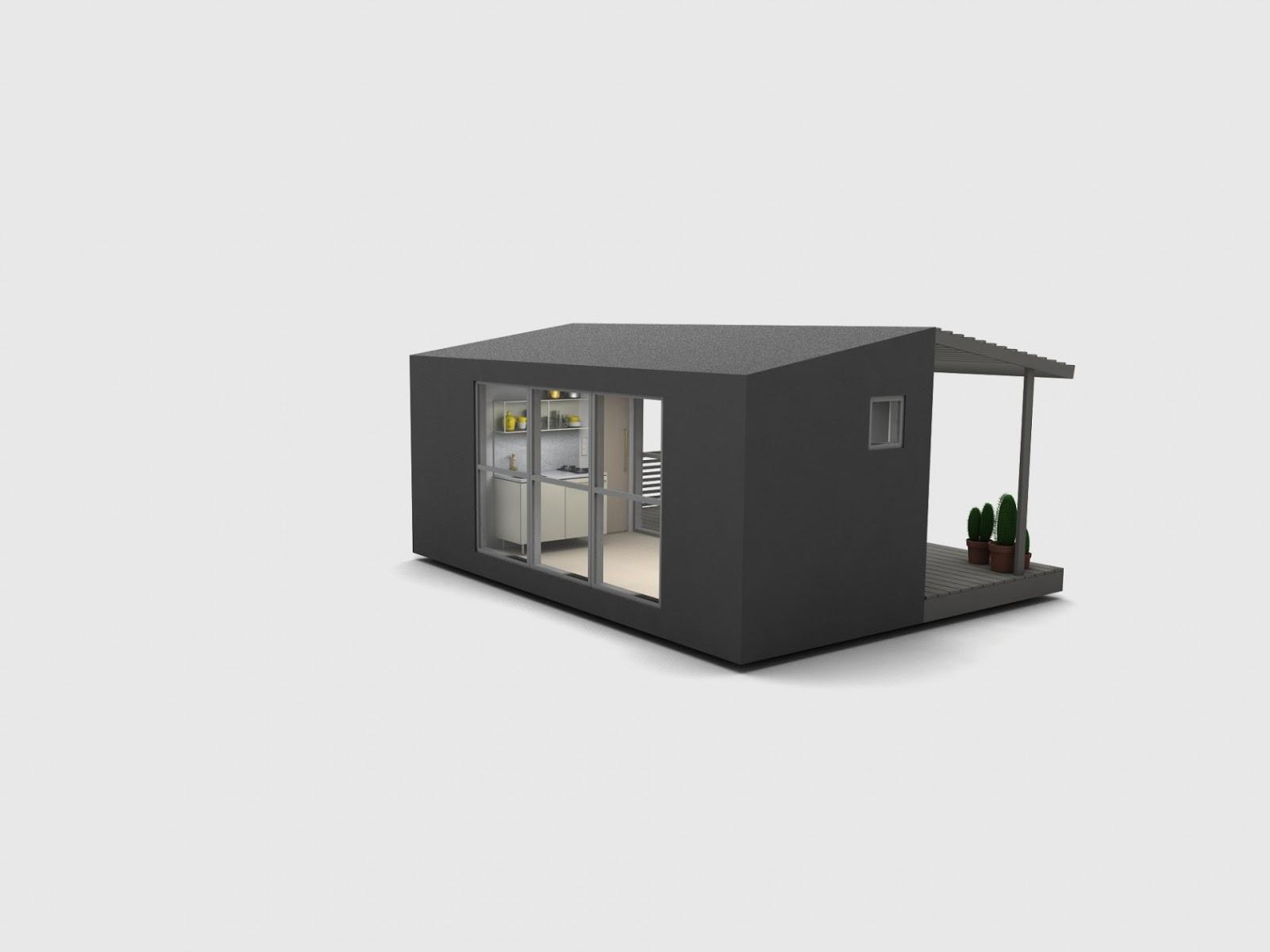 Casas modulares y prefabricadas de dise o mini house la - Mini casas prefabricadas ...