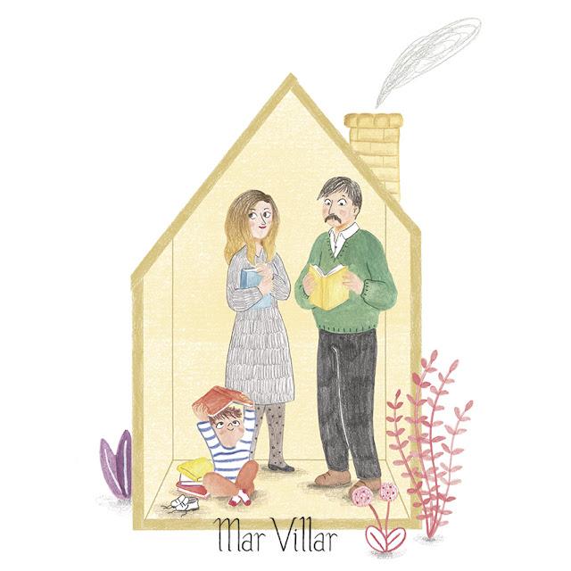 Lectores, lectura, me gusta leer, libros, familia lectora, promover la lectura, promoción de la lectura, pequeños lectores, Mar Villar, amor por los libros, el olor a libro nuevo,
