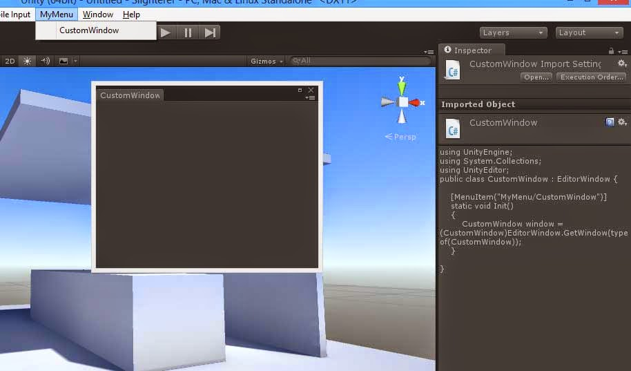 Newtonians' Blog 3D: How To Use Editor Window To Make Custom Editors In Unity (With Sample code)