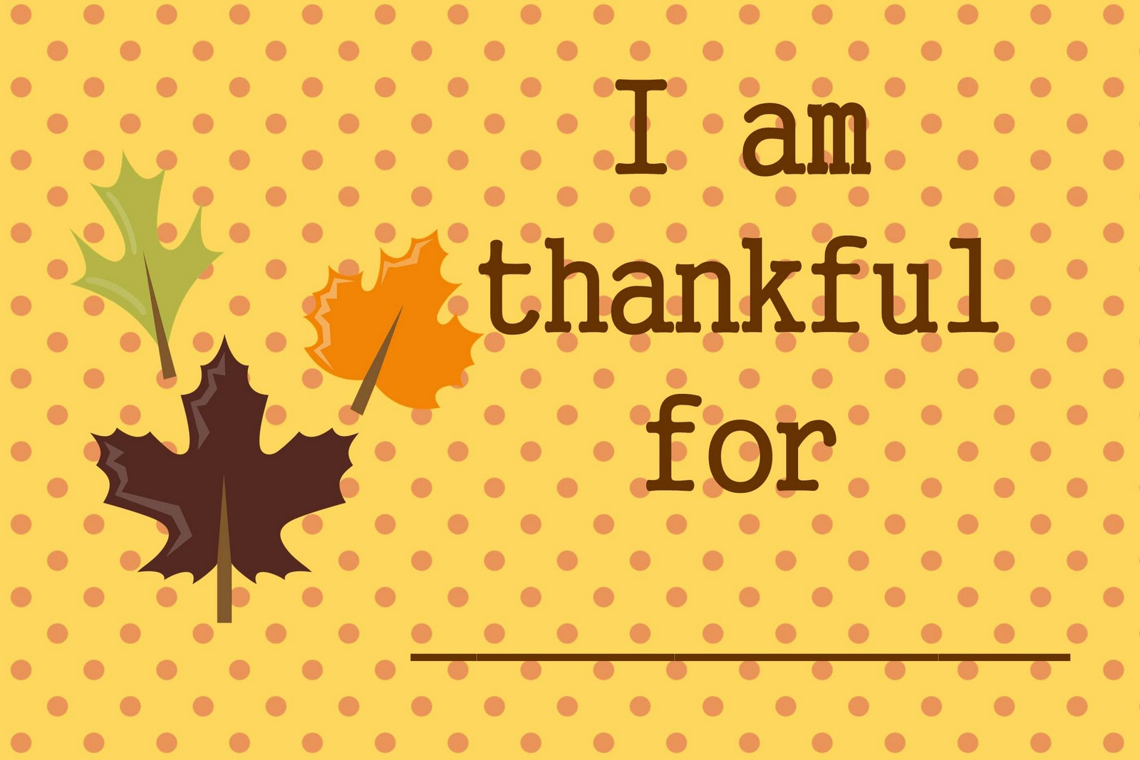 A Dozen Years Later I Am Thankful For Printables Set