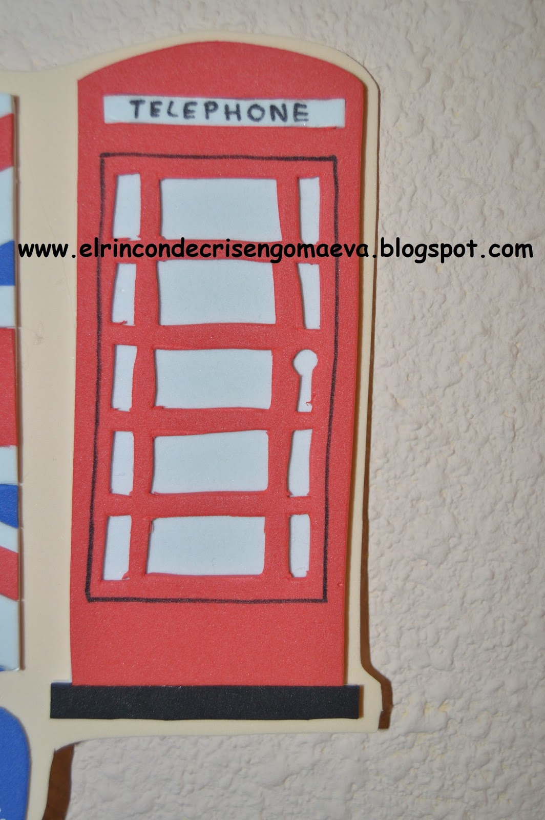 El rinc n de cris cartel puerta londres for Cartel puerta