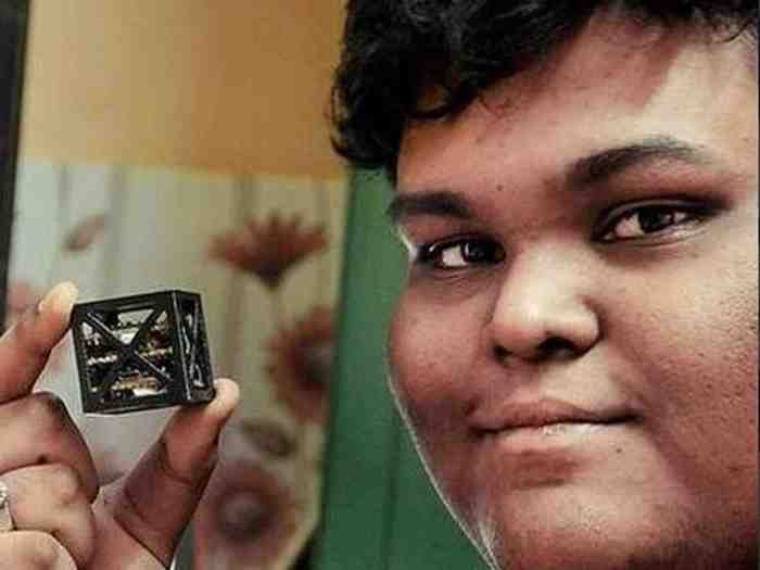 satellite designed by 18-year-old