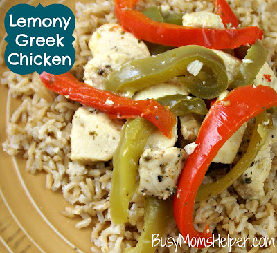 Lemony Greek Chicken