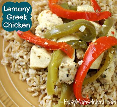 Lemony Greek Chicken