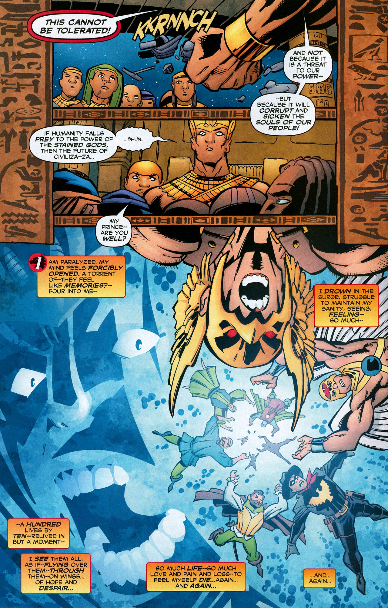Read online Trinity (2008) comic -  Issue #22 - 7