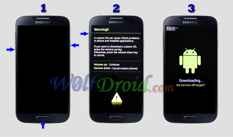 caccont to firmware upgrade on samsung s5