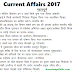 Current Affairs One Liners Question Bank 2017 (Hindi) for Competitive Exams in PDF