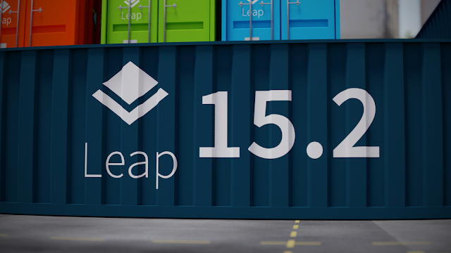 openSUSE Leap 15.2 container