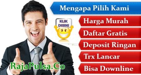 RajaPulsa.co Web Resmi Raja Pulsa Muhammad Hayyi CV RMS Termurah