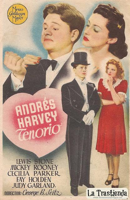 Programa de Cine - Andrés Harvey Tenorio - Mickey Rooney - Cecilia Parker - Judy Garland