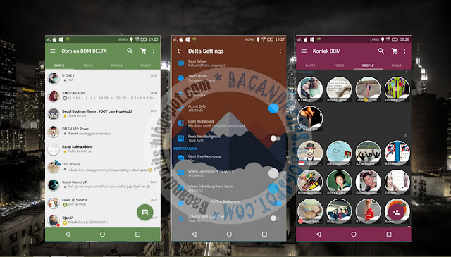 download BBM2 Mod Delta Theme Versi 2.13.1.14 Apk Update V3.5.1(Clone)