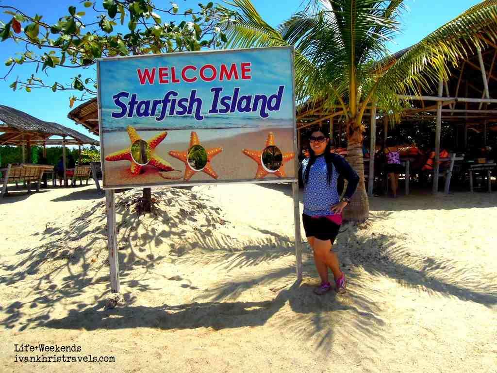 Honda Bay Island Hopping Tour Starfish Island