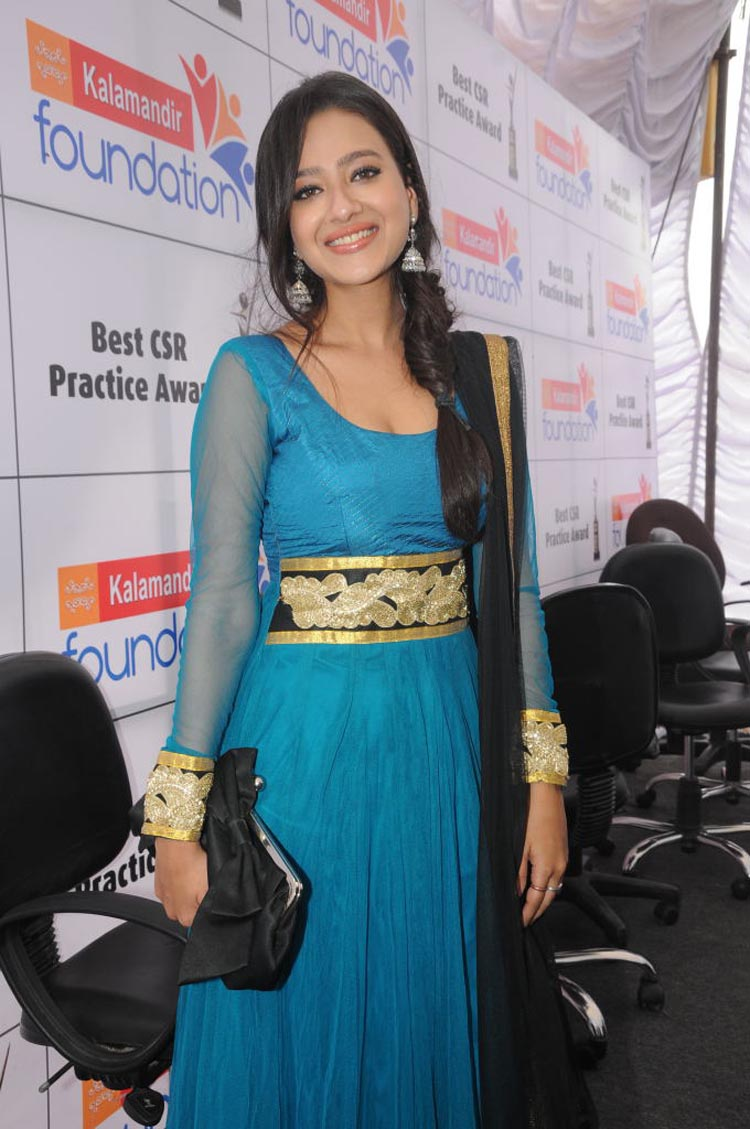Madalasa Sharma Spicy in Salwar at Event Pics