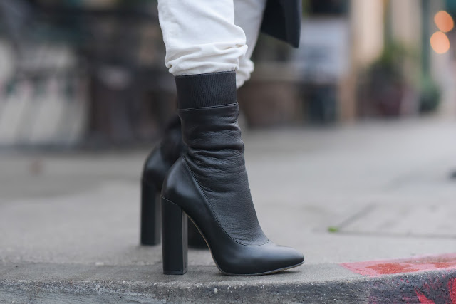 black zara mid-calf leather boots petite blogger California fashion blogger Joanna Joy A Stylish Love Story Fashion Blog