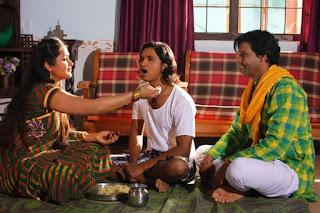 काजल राघवानी के देवर बने ओम कुमार फिल्म 'चिर हरण' में