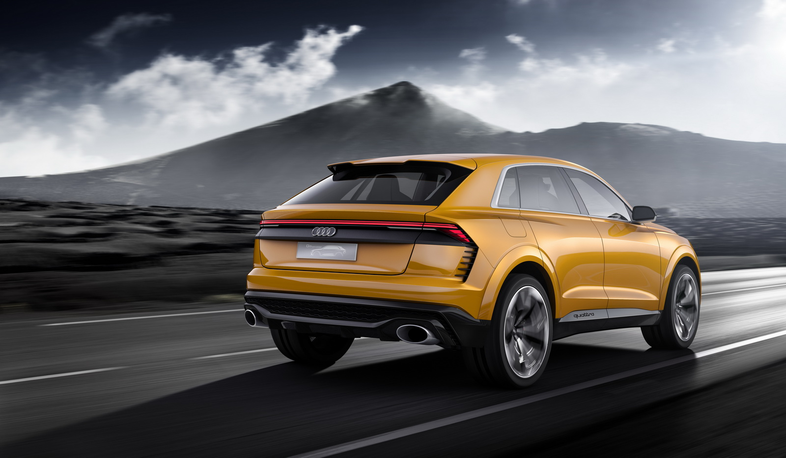 new audi q8 sport concept is a 469hp suv heading our way fast. Black Bedroom Furniture Sets. Home Design Ideas
