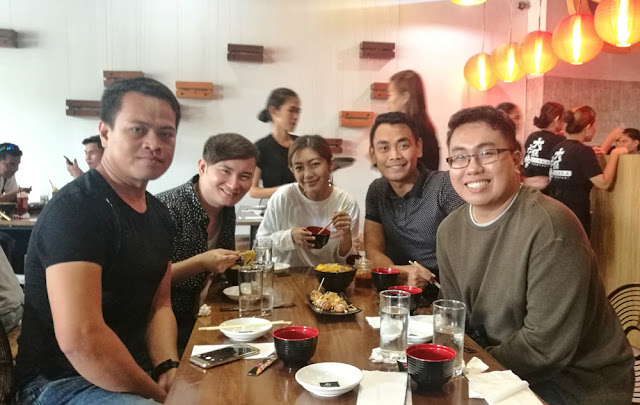 CBS Bloggers during the opening of Osaka Takoyaki Cebu Business Park