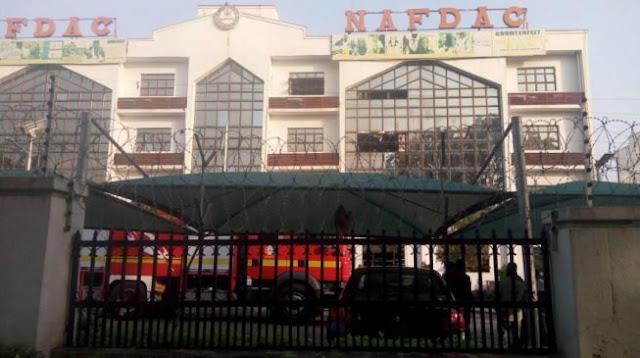 BREAKING: NAFDAC head-office on fire