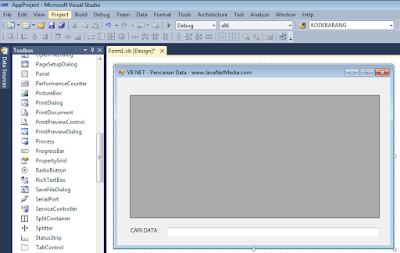 VB .NET - Membuat Form Pencarian Data Pada DataGridView