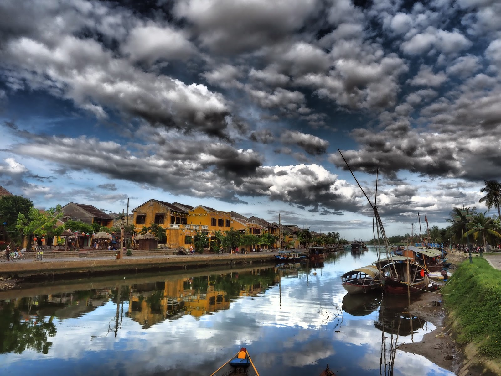Hoi An Vietnam UNESCO World Heritage waterway river travel holiday vacation trip