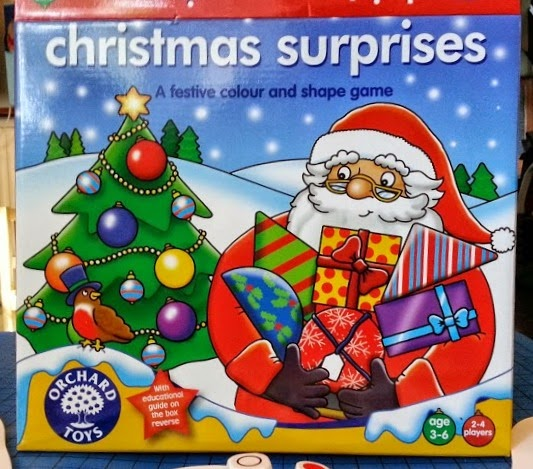 Christmas Surprises Game review from Orchard Toys