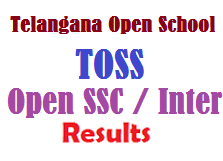 TOSS - Telangana Open SSC Inter Results