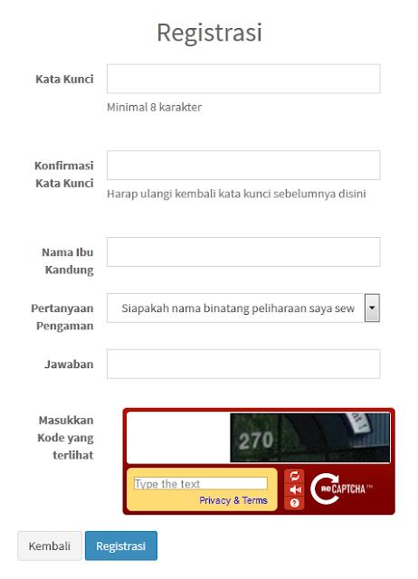 Registrasi e-PUPNS